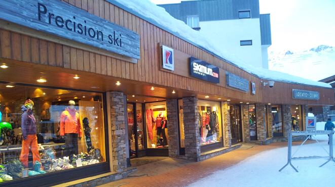 location ski tignes val claret
